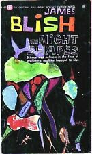 THE NIGHT SHAPES (James Blish/1st US/PBO/dinosaurs)