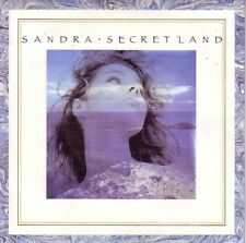 "7"" 45 TOURS FRANCE SANDRA ""Secret Land / Into Nobody's Land"" 1988"