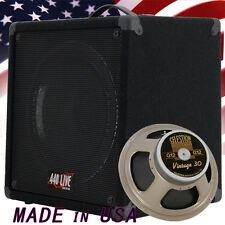 1X12 guitar speaker cabinet w/CELESTION Vintage 30 speaker Slanted shape 8 Ohms