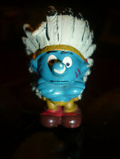 PUFFO 20144 INDIANO collezione puffi peyo smurfs soprammobili Schleich vintage