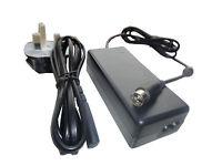 12V 6.67A AC-DC Adaptor Power Supply 4 Pin Din Model 0219B1280 Pin 1+2 Positive
