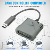 Brook PS2 To PS3 / PS4 / PC Game Controller Gamepad Super Converter USB Adapter