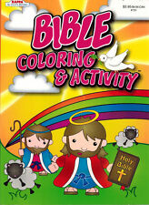 Bible Coloring & Activity Book -