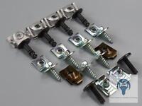 Motorschutz Clips Einbausatz Reparatur Set für BMW 5er E60