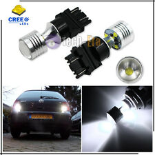 HID White High Power 20W CREE 3156 3056 3157 LED Bulbs For Reverse Backup Lights