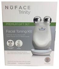 NuFACE Trinity Facial Trainer + ELE Attachment Gift Set Kit Rejuvenate Skin