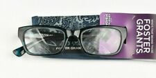 Foster Grant Reading Glasses Womens MIRA BLUE Reader (Multiple Strengths)