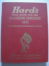 HARD'S YEAR BOOK for the Clothing Industry 1971 - Fashion / Tailoring / Retail