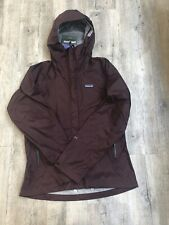 Patagonia Ladies Rain Shadow trekking jacket Burgundy S XL