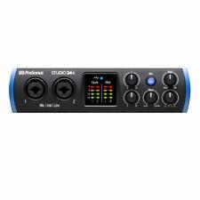 PreSonus Studio 24c 2x2 USB Type-C Audio/MIDI Interface New