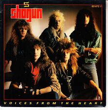 "SHOGUN Voices From The Heart PICTURE SLEEVE 7"" 45 rpm record NEW + jukebox strip"