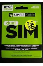 Simple Mobile Sim Card with First Month Included : $ 40 Plan …