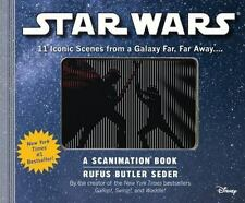 Star Wars : A Scanimation Book - 11 Iconic Scenes from a Galaxy Far, Far Away..