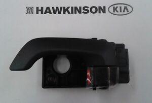 NEW OEM KIA OPTIMA DRIVER SIDE (LEFT) INTERIOR DOOR HANDLE ASSEMBLY