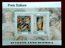2000 ITALY sheet 2 stamps MNH Avvento anno 2000 5°serie