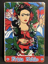 FRIDA KAHLO MEXICAN PAINTER SELF-PORTRAITS Vintage Retro Metal Sign 30x20cm