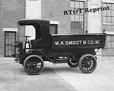 Historical Photograph of Smoot Lumber Yard Delivery Truck  1919  8x10