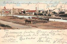 Landsberg an der Warthe  Gruss Postkarte 1901