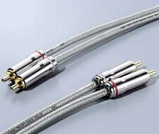 Ortofon Interconnect Cable RCA 1.5m Pair AC-3800 SILVER [Track & Fast]