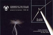 "Aland - ""ELECTRICITY ~ PRESERVE THE POLAR REGIONS & GLACIERS"" MS 2009 !"
