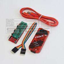 Programmatore PicKit3 CLONE completo di cavo USB e adattatore ICSP - ART. CA13