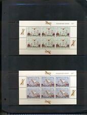 New Zealand #B77a-78a  (1969 Cricket Health sheets) VFMNH CV $20