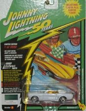 JOHNNY WHITE LIGHTNING 50 YEARS 64 1/2 MUSTANG CONVERTIBLE 1 OF 74 ONLY MADE