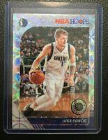 2019-20 NBA Hoops Premium Stock Luka Doncic Silver Scope Prizm
