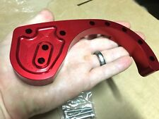 Yamaha Banshee 350 Billet RED CASE Saver ! Anodized chain guard