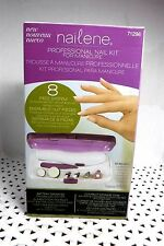 Nailene PROFESSIONAL NAIL KIT 8 Pc System # 71296 NTRL & ACRYLIC Nails NIB 296 @