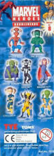 "Tomy Minifigures (5cm/2"") - Marvel Heroes Bobbleheads - Choose a character"