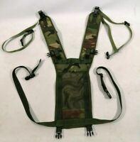 British Army PLCE Woodland DPM Webbing Yoke Side Pouches Cadet Rucksack