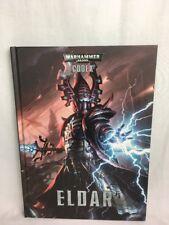 Warhammer 40.000 Codex Eldar Army Supplement Hardback Book