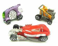 * 1/64 * Hot Wheels X 3 * Express Lane , Cyclops + Salt Flat Racer * Cool *