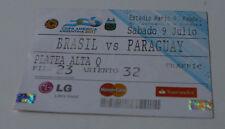 Ticket for collectors Copa America 2011 Brasil - Paraguay in Córdoba 9.07