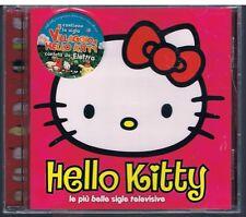 HELLO KITTY LE PIU' BELLE SIGLE TELEVISIVE CD F.C. NUOVO SIGILLATO!!!