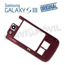 "Chasis Intermedio Rojo ORIGINAL Samsung Galaxy S3 I9300 ""Refurbish"" Marco"
