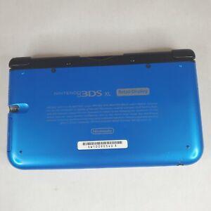 Nintendo 3DS XL System Retail Display Store Kiosk Blue RARE