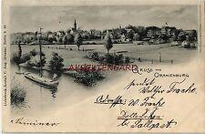 Normalformat Architektur/Bauwerk Ansichtskarten vor 1914 aus Brandenburg