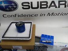 SUBARU IMPREZA 2.5 TURBO GENUINE SERVICE KIT OIL AIR SPARK PLUGS WRX STI MK3