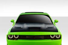 2008-2018 Dodge Challenger Duraflex Hellcat Look Hood - 1 Piece 112342
