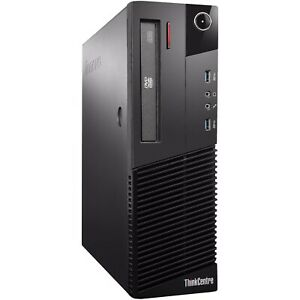 LENOVO ThinkCentre M93p SFF i5-4570 3.2GHz 8GB RAM 500GB DVD PRIVATE LINUX