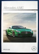Prospekt brochure 2018 Mercedes AMG Programm (USA)