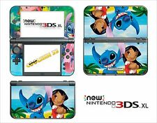 SKIN STICKER AUTOCOLLANT - NINTENDO NEW 3DS XL - 3DSXL  REF 67 STITCH
