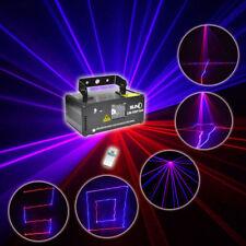 SUNY Stage Laser Light DMX Red Blue Purchase Beam Scanner Show DJ Bar DM-RBP300