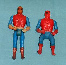 vintage Mego COMIC ACTION HEROES & POCKET SUPERHEROES SPIDER-MAN LOT x2
