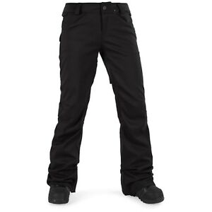 VOLCOM Women's SPECIES STRETCH Snow Pants - BLK - Small - NWT