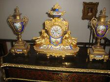 New listing Antique Kpm Sevres Porcelain Bronze Clock
