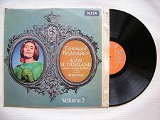 Joan Sutherland - Command Performance, London Symphony Orch. Decca LXT-6074 Ex