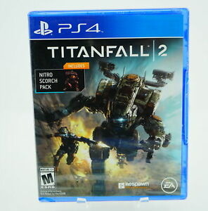 Titanfall 2 with Bonus Nitro Scorch Pack: Playstation 4 [Brand New] PS4